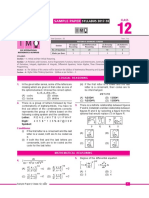 Imo Sample Paper Class-12