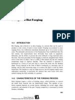 MJ Design for Hot Forgings