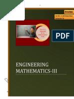 Privie of Engineering Mathematics III by Prof. p. d Wasankar