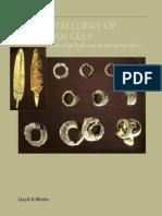 Early Metallurgy of the Persian Gulf (Lloyd R. Weeks, 2003)