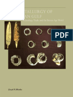 Early Metallurgy of the Persian Gulf (Lloyd R. Weeks, 2003)