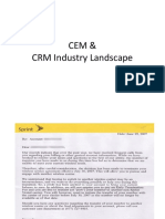 CRM Industry Landscape