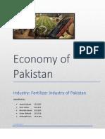 Fertilizer Industry Of Pakistan