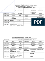 Horario 2010 i Fac. Ing. Qumica Vciclo