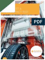Impact-Test & Radial Impact-Test - MAKRA Datasheet