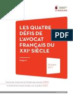 Les quatre défis de l'avocat français du 21ème siècle