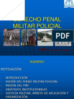 1. Fuero Militar - Antecedentes-10jun2014-Clase Sia 19 Ago 2015