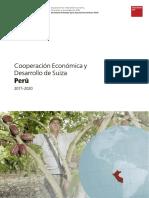 SECO Estrategia País Perú 2017–2020