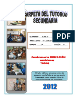 Carpeta de Tutoria