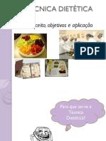 Aula 1-Técnica Dietética_ Aplicação