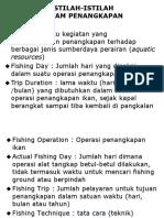 Daftar Istilah Perikanan Tangkap