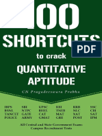 100 Shortcuts to Quantitative Aptitude Speed Matters Userupload.net