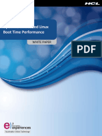 An Insight to Optimize Embedded Linux Boot Time Performance