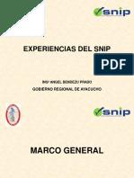 Experiencias Del Snip