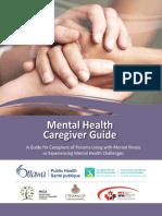 Mental Health - Caregiver Guide
