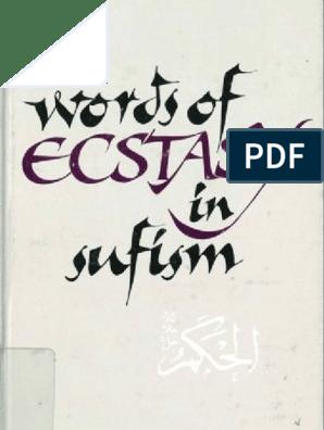 ERNST Words of Ecstasy in Sufism Sufism