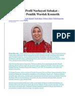 Biografi dan Profil Nurhayati Subakat.docx