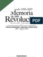 Memoria de una Revolución. Tomo I