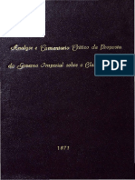 Magistrado - Análise de 1871