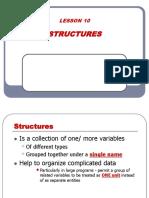 Lesson 10 - Structure (1)