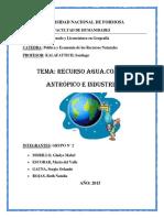 4.Monografía Recurso Agua