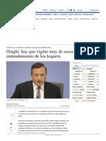 Sesión 3 - Draghi_ Hay Que Vigilar Muy de Cerca El _alto_ Endeudamiento de Los Hogares