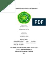 analisis Rhodamin B & Methanil Yellow