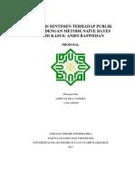 Proposal Sentiment Analysis
