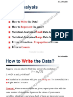 Error Analysis Jahir