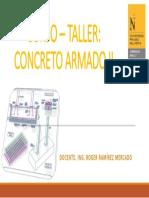 Curso – Taller Concreto Armado II