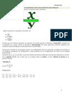 División de Polinomios Con Coeficientes Racionales