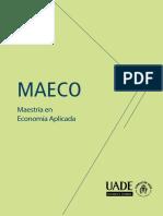 Flyer Maeco