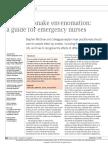 Effects of Snake Envenomationa Guide for Emergency Nurses - 2014