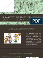 Proyecto de Educación Vial