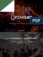 GrooveList Para Festivales