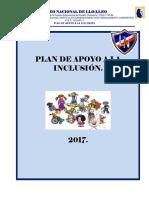Plan de Apoyo a La Inclusion Ln 2017