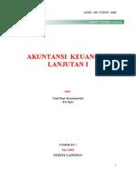 Akuntansi Keuangan Lanjutan 1
