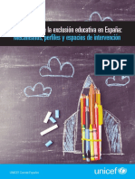 Factores de Exclusion Educativa en Espana