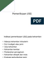 Pemeriksaan USG
