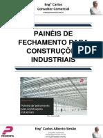 Painéis de Fechamento Para Construções Industriais