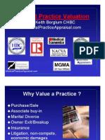 Medical Practice Valuation Appraisal PDF