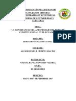 DEREHO CONSTITUCIONAL