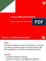 Macro Nueva U6 Dinero y Política Monetaria(1)