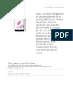 LG G Stylo LGH636_ Un Puissant Téléphone Intelligent Avec Styl