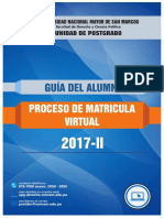 Guia Matricula Virtual 2017 2