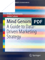 Mind Genomics a Guide to Data Veljko Milutinovic
