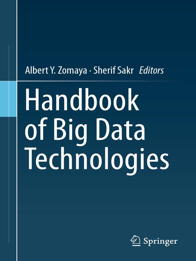 Springer - Handbook of Big data Technologies | Open Stack | Apache