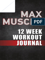 muscle max - workout journal