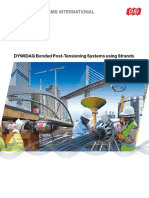 Dsi Dywidag Bonded Post Tensioning Systems Using Strands Eu