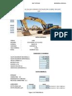 Costos en Operación de Maquinarias Pesadas